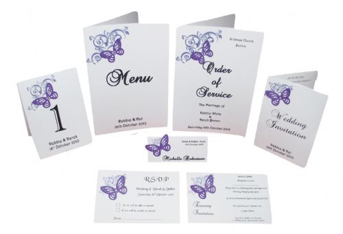 Corner Butterfly Design sample pack